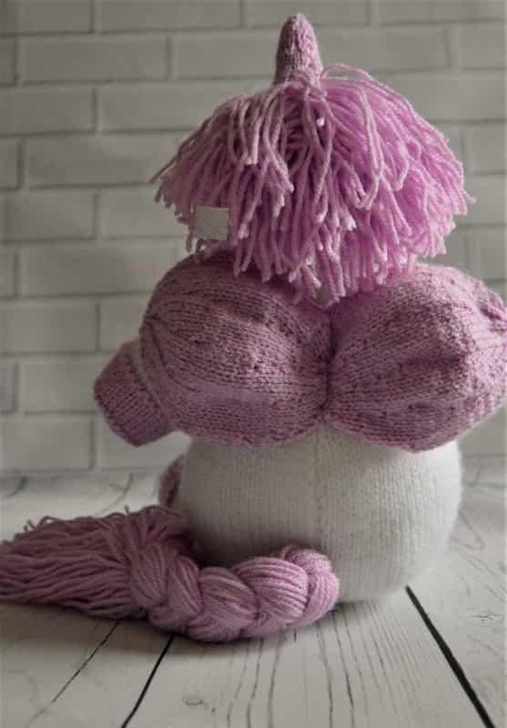 Unicorn Knitting Pattern Uk : Kbp knitting by post sprinkle the unicorn dk